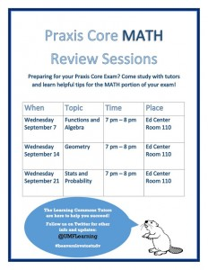 praxis-core-math-review-sessions