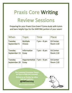 praxis-core-writing-review-sessions