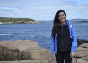 Sofia Vanoli on the Mainely Outdoors adventure to Acadia National Park. (Photo by Patty Smith)