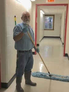 Steve Decker: Custodian of Stone Hall, Every Student's Friend