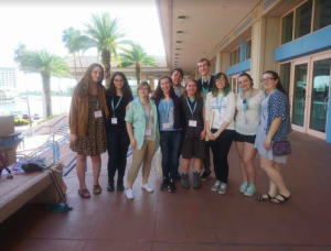 UMF Students Embrace Global Writing Community at AWP
