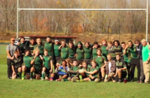 UMF Men's Rugby Tackles England