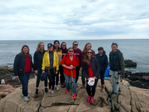 Mainely Outdoors leads UMF students to the Coast