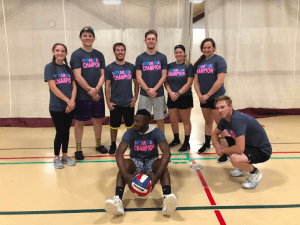 Big Red's Army Crowned New Intramural Volleyball Champions