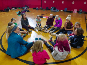"UMF Graduate Coaches ""Fit Girls"" Program"