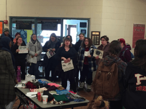 Students Share Their Pain And Demand Better University Practices at Protest in Olson