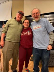 Ben and Jerry's Ice Cream Social at UMF for Bernie Sanders