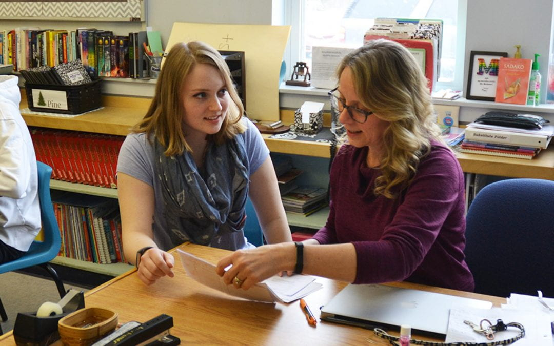 UMF Senior Works with Mentor Teacher to Create Virtual Student Teaching Experience