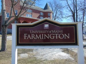 University of Maine Farmington by Sam Shirley.