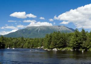 Picture of Katahdin Mountain