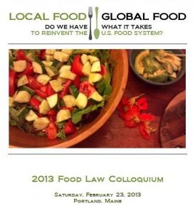 2013 Food Law Colloquium