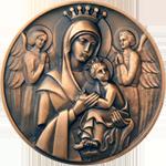 Cardinal award medallion