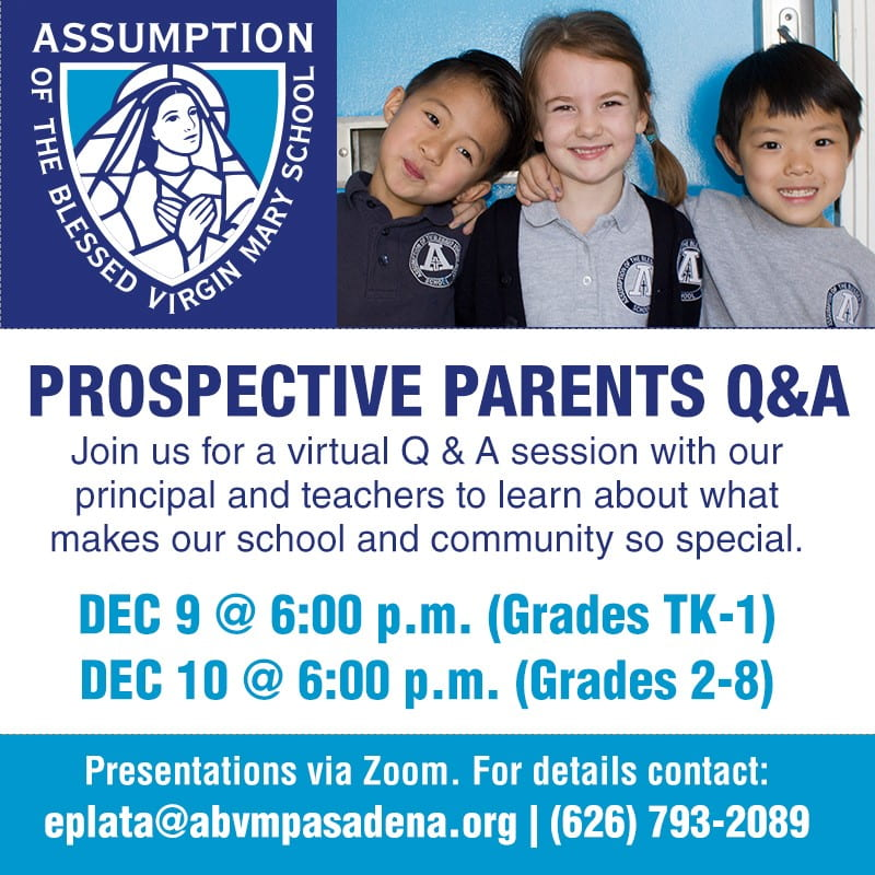 Prospective Parents Q & A Zoom Session