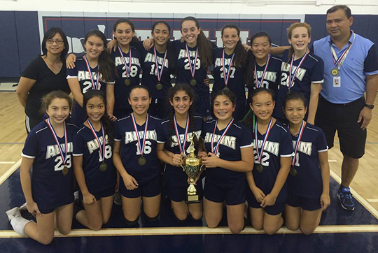 Third consecutive CYO title for our Varsity Girls Volleyball Team. Congratulations to the girls and their coaches. Go Gators!