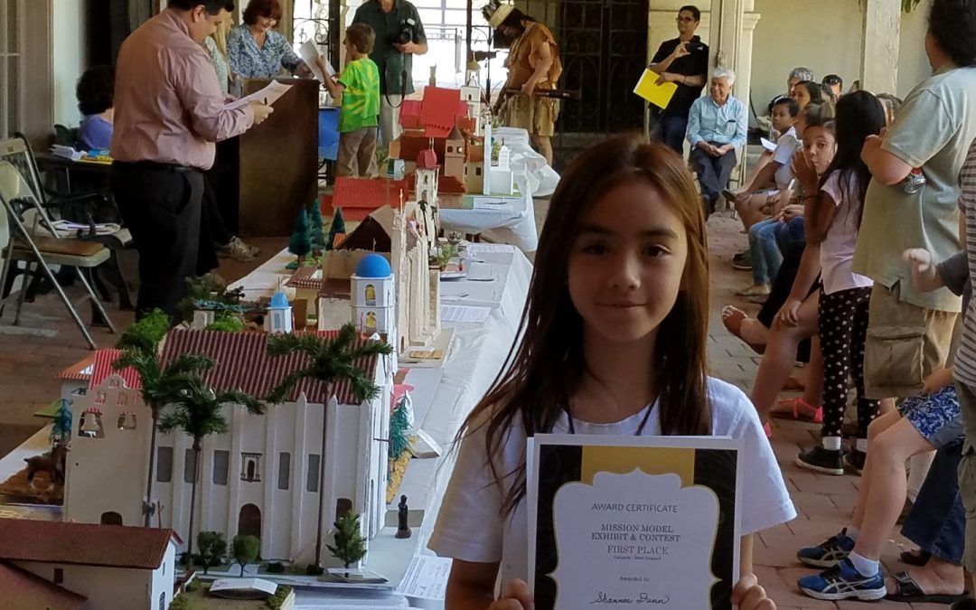San Gabriel Mission Model Exhibit winners