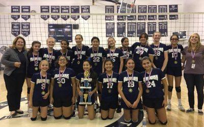 2017 CYO Volleyball Navy Division Champions!!