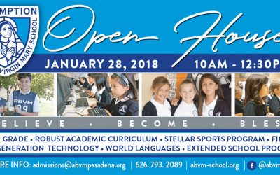 Open House January 28th 2018
