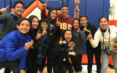 ABVM's Odyssey of the Mind 7th Grade Team Wins First Place!