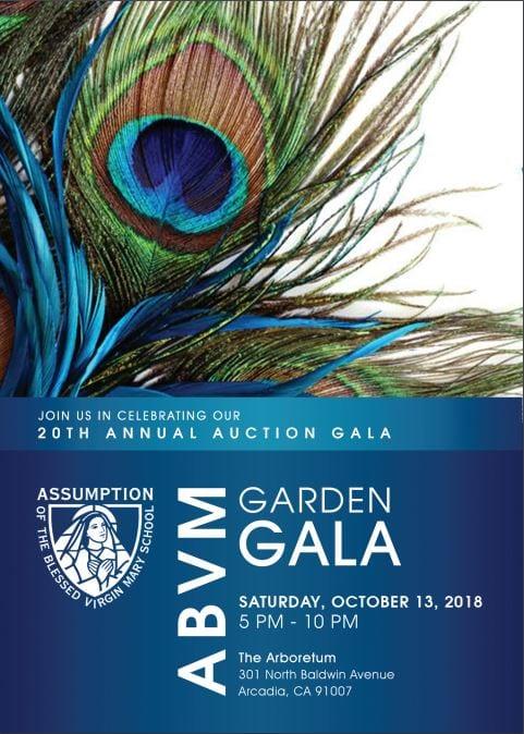 ABVM Garden Gala – Oct 13, 2018
