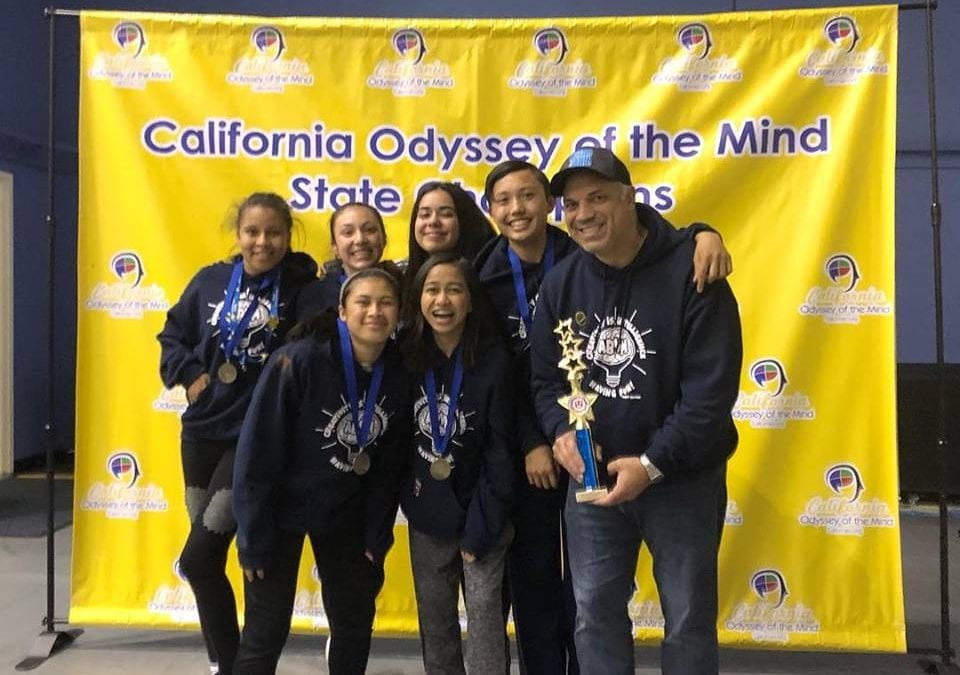 ABVM wins 1st place California in OOTM competition