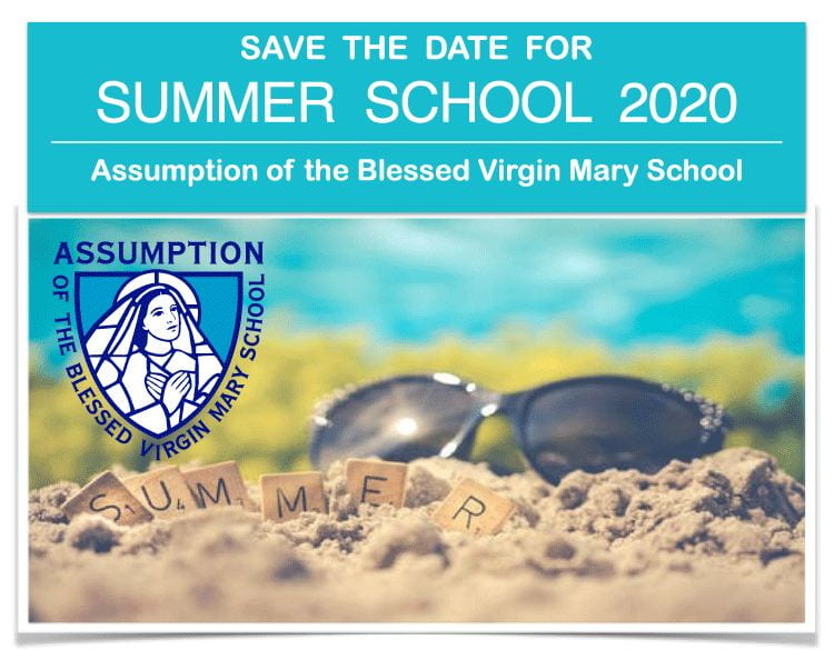 2020 Summer School: Save the Date
