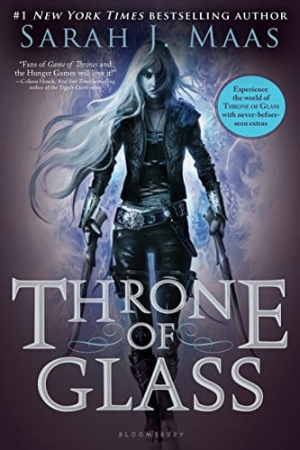 Book Show and Tell #2: Throne of Glass by Sarah J Maas