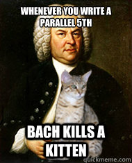 bach kills kittens