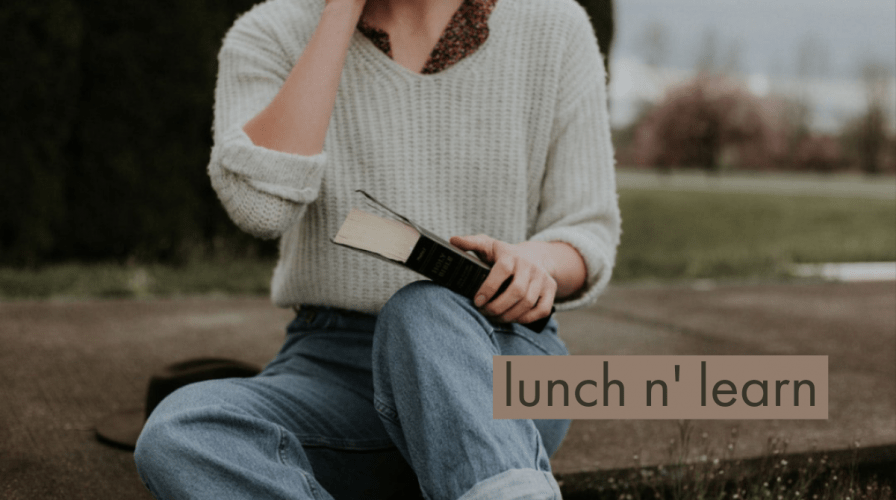 learning over lunch