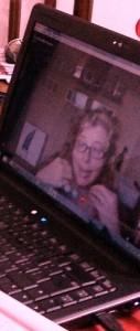 A través de mi pantalla