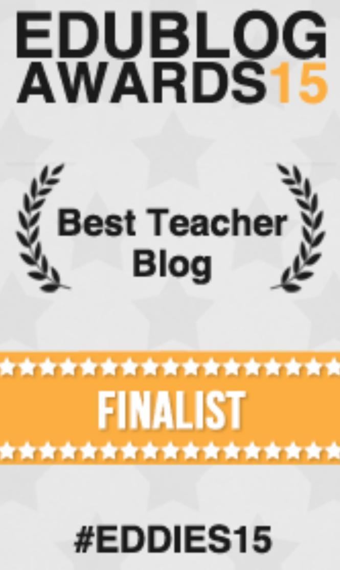 Edublogs Awards 2015