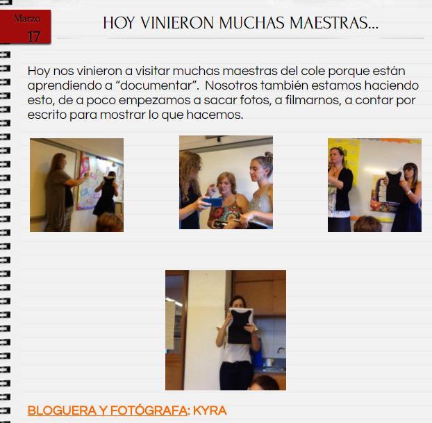 visita de maestras