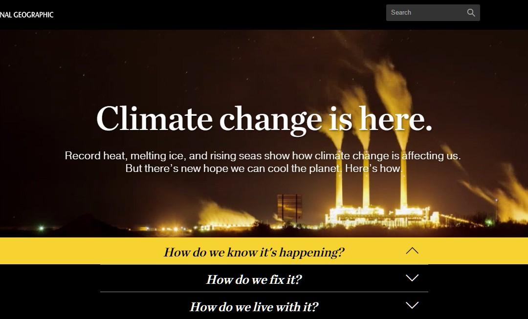 Sustainability Around the Web