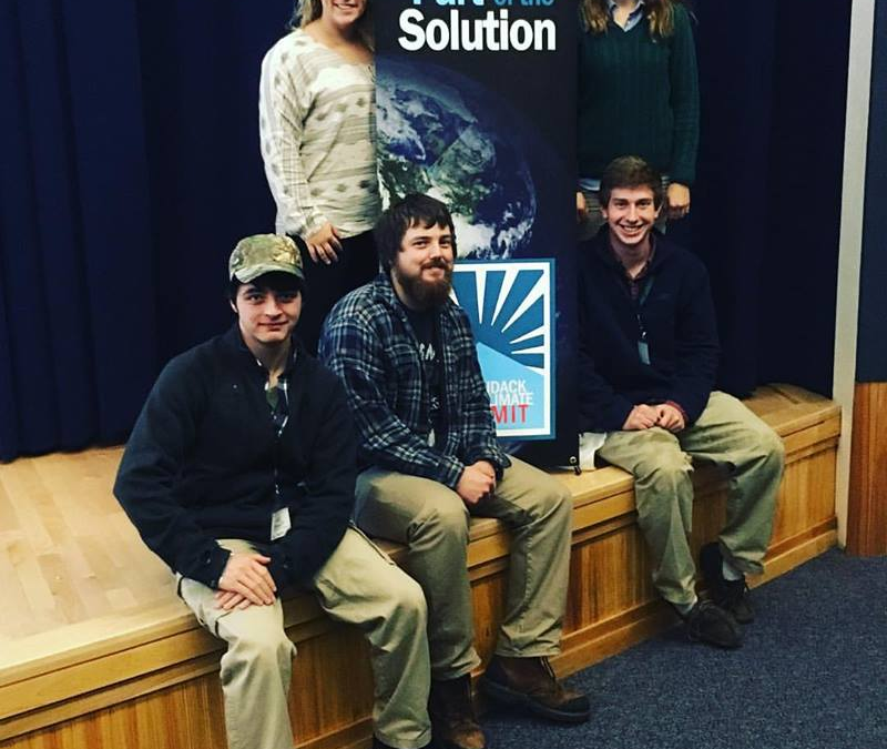 PSC Students Attend 2017 ADK Youth Climate Summit