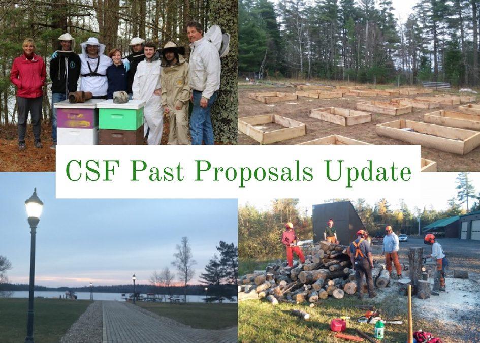 CSF Past Proposals Update