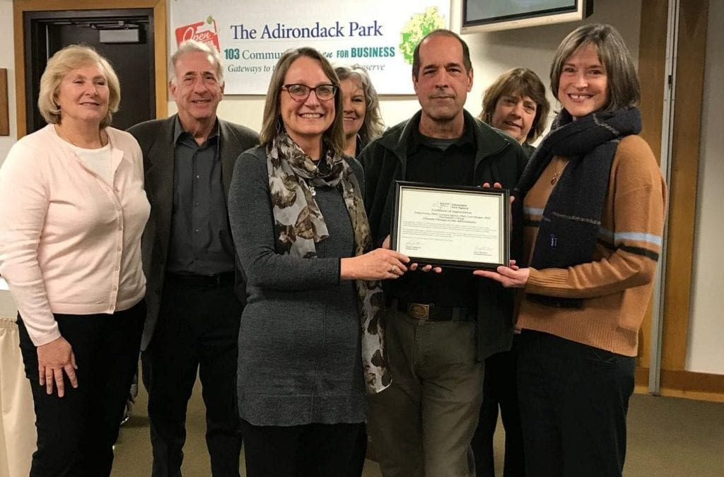 Natural Science in the News: Expert Panel on Climate Change at the Adirondack Park Agency