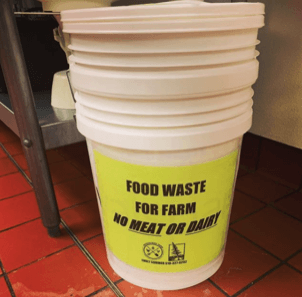 Paul Smith's College Donates Food Scraps to Local Farm !