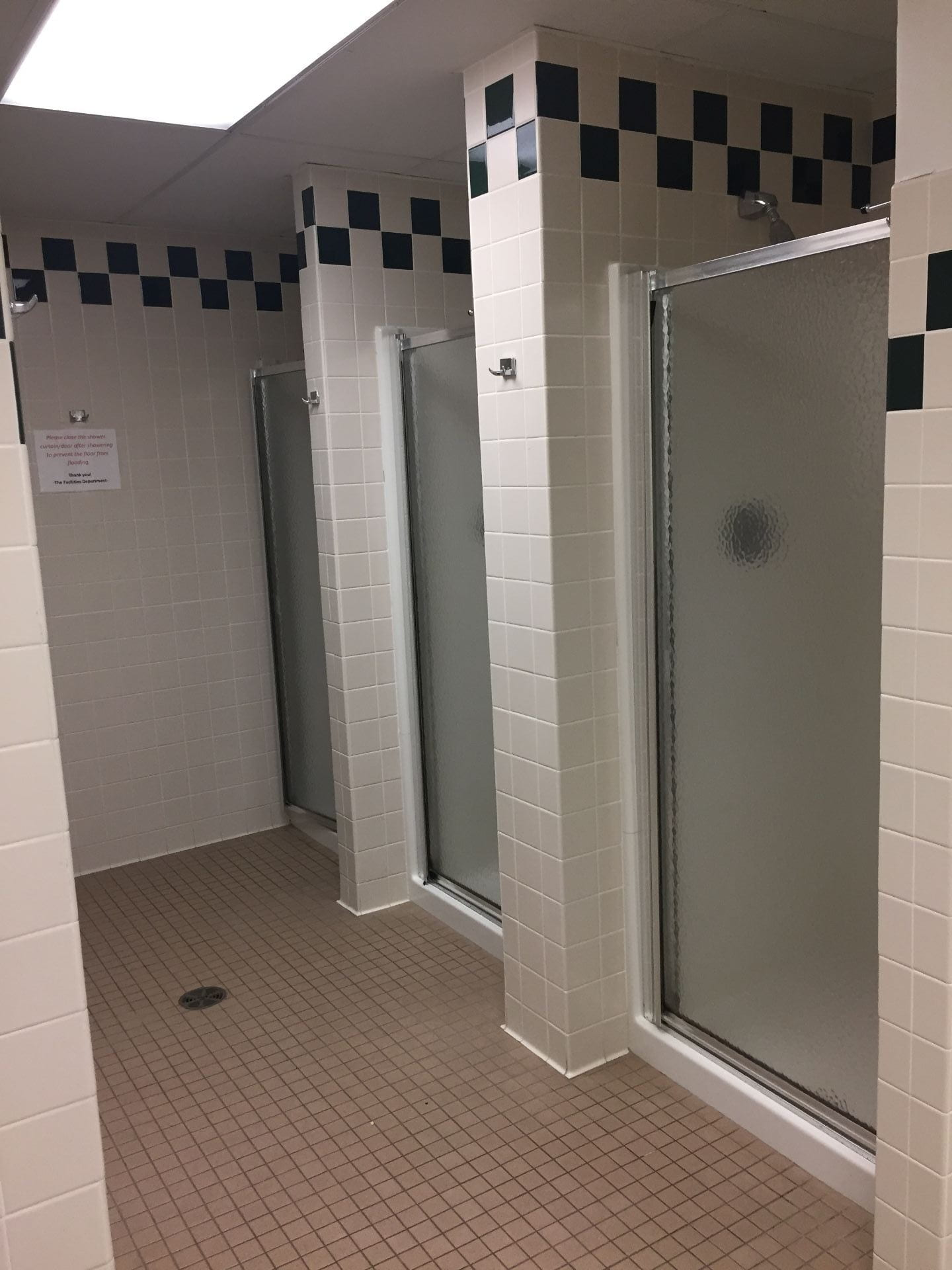 LMS Showers