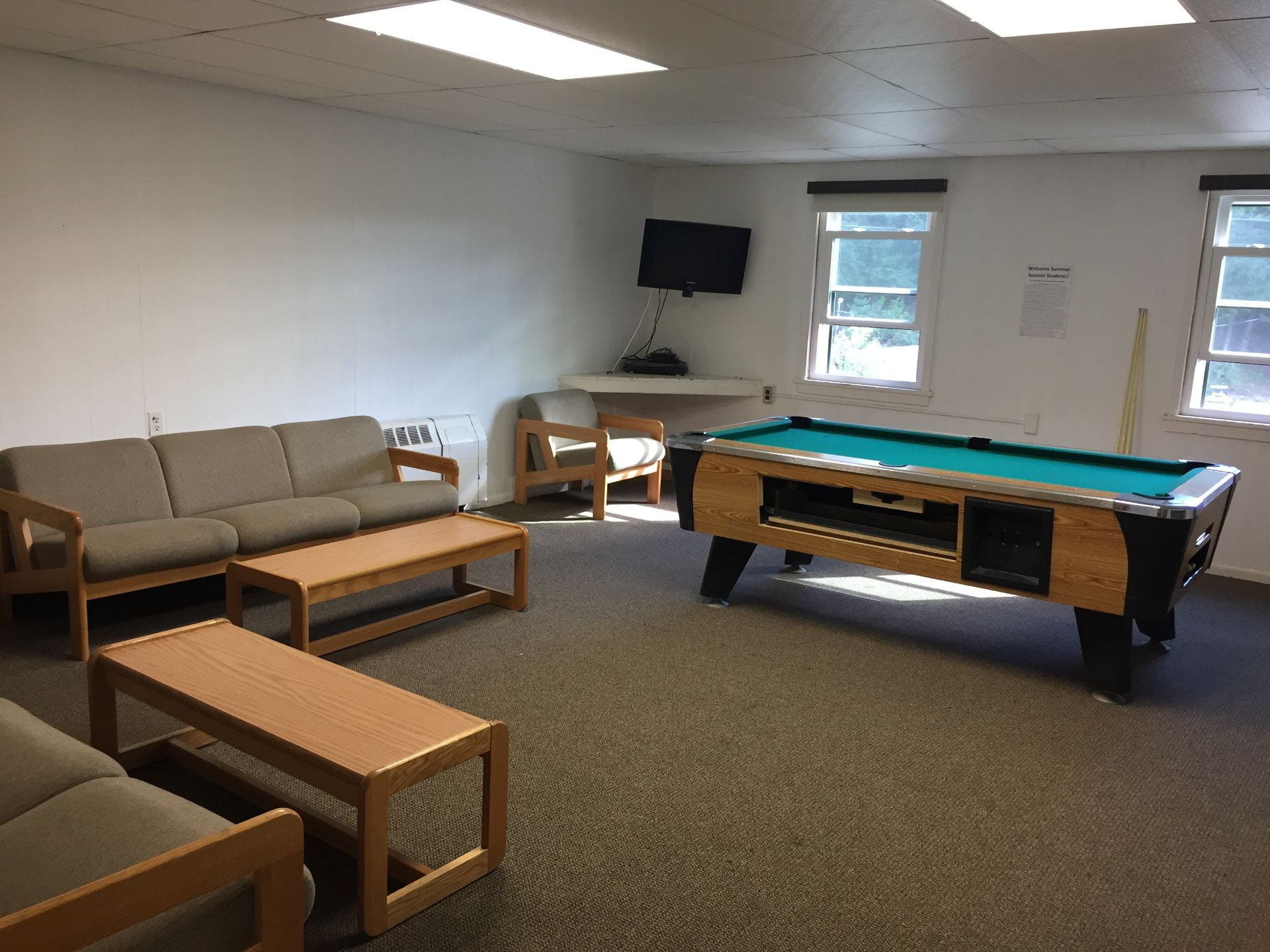 Pre-Renovation Currier Lounge