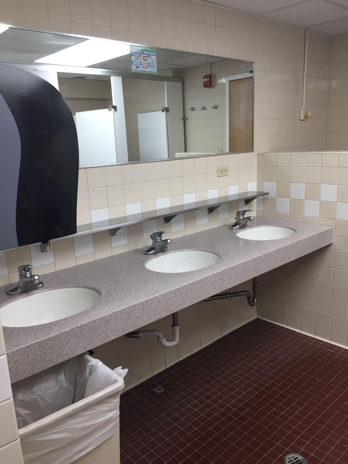 Pre-Renovation Currier Bathroom