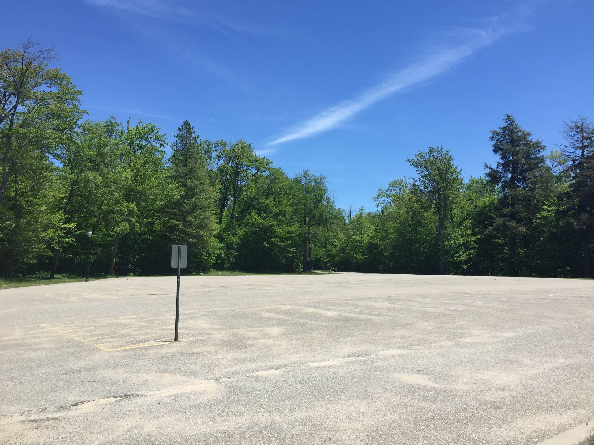 Saratoga Parking Area