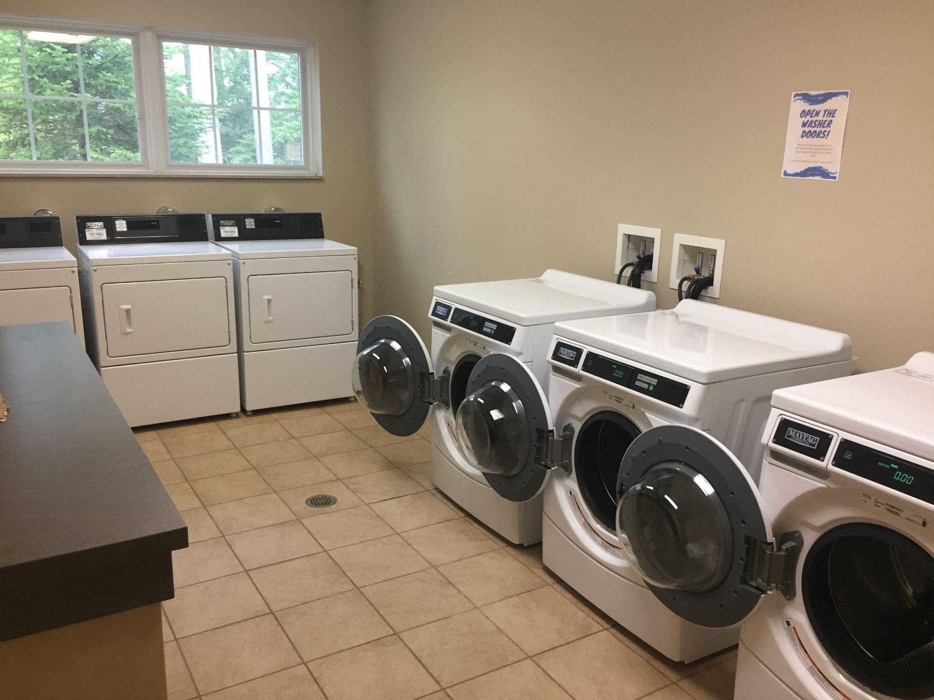 Overlook laundry