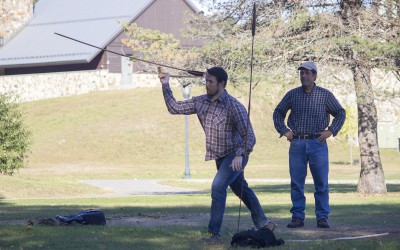 "Paul Smith's College to face SUNY Potsdam in ""Atlatl Battle"""