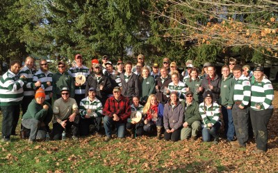 Woodsmen's team takes two overall titles at East Coast Lumberjack Roundup