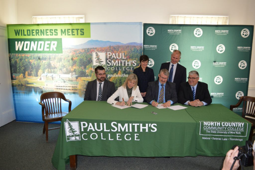 Presidents and associates sign agreement