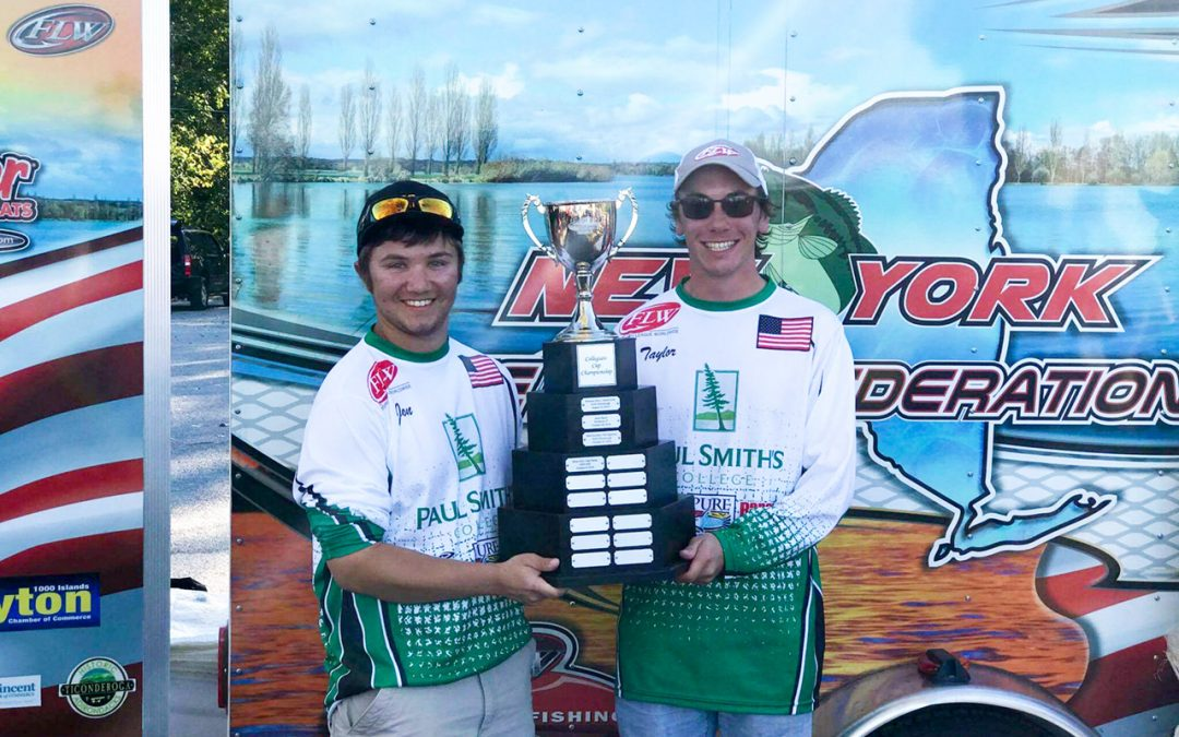 Paul Smith's College students win bass fishing championship