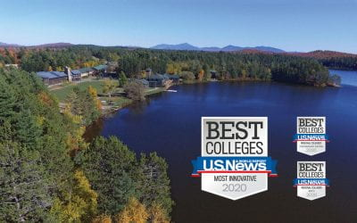 Paul Smith's College earns No. 1 Most Innovative Schools distinction from U.S. News and World Report