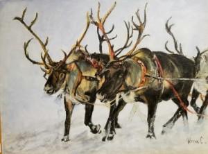 Reindeer by Roma Czerepuzko