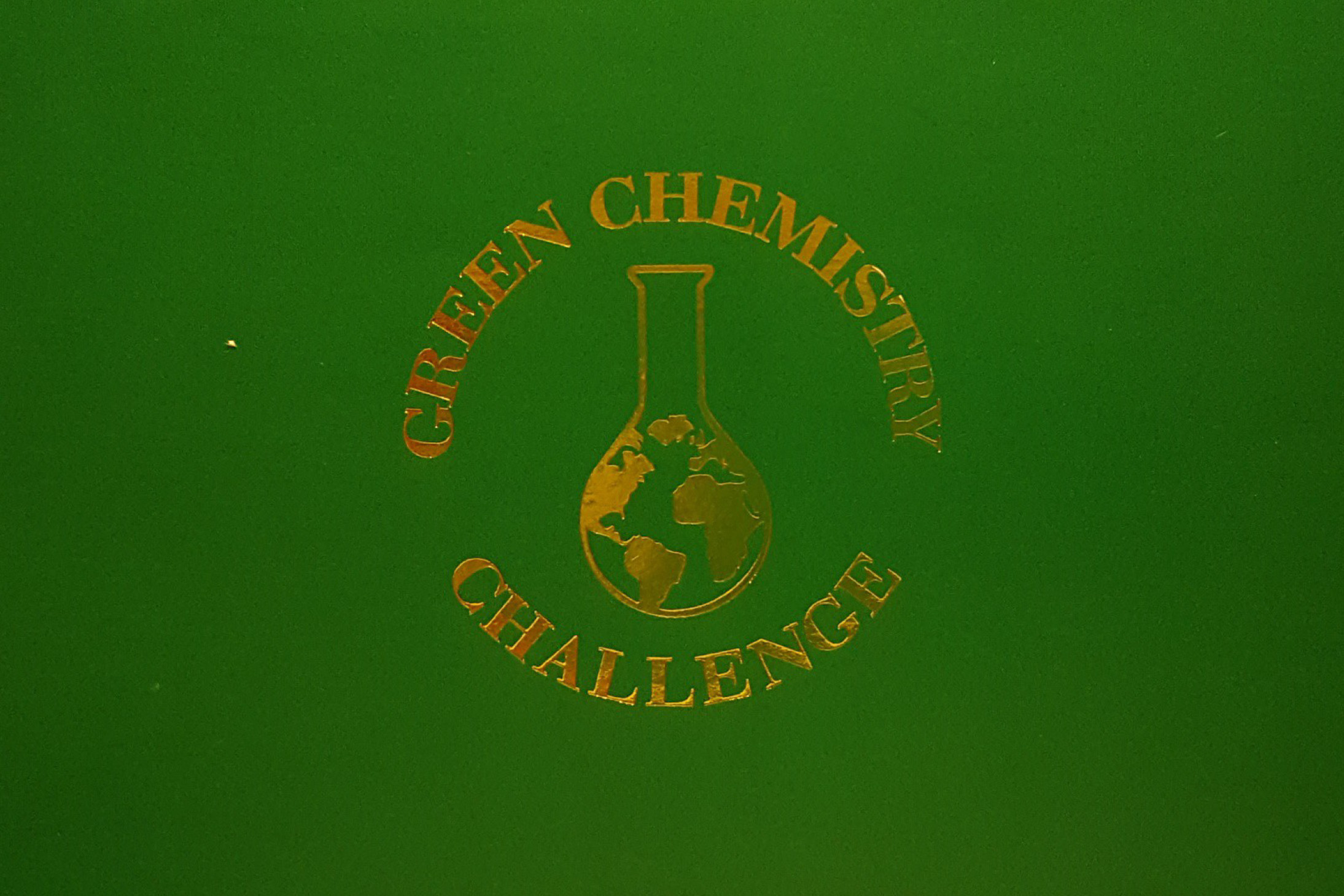 EPA Green Chemistry Award Cover