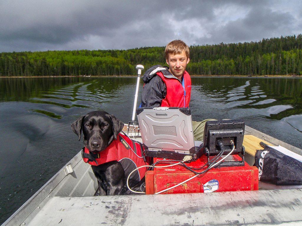 Creating digital bathymetric maps at the experimental lakes area - Brendan Wiltse