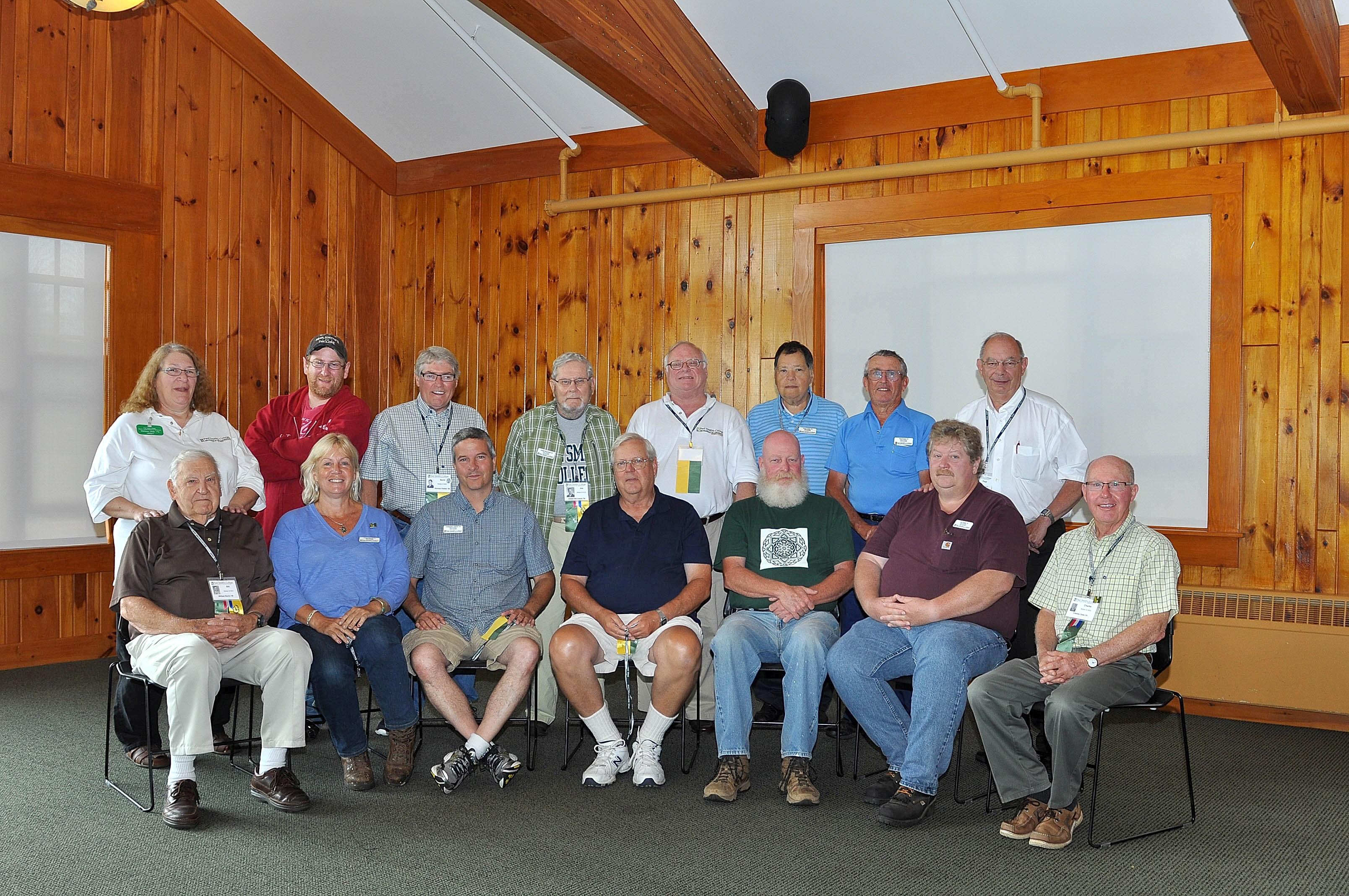 Alumni Board Members at Reunion 2015